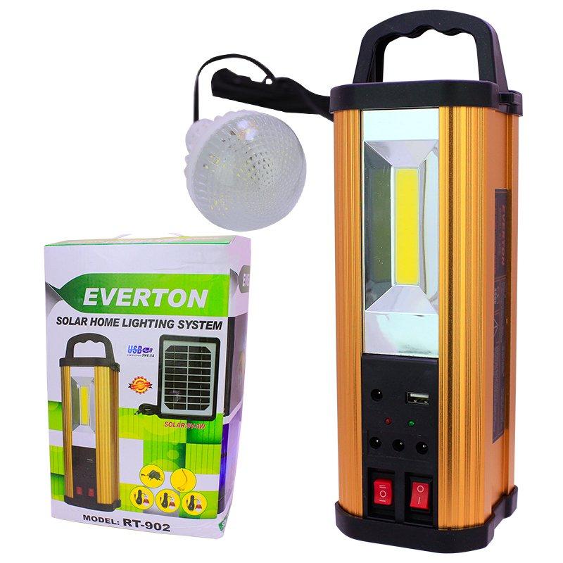 Everton RT-902 USB-SD Girişli Solar Işıldak