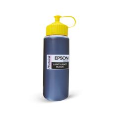 Epson Plotter için uyumlu 500 ml Pigment Light Light Black Mürekkep (PHOTO INK Akıllı Mürekkep)