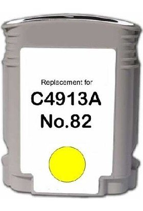 HP C4913A HP 82 Sarı Uyumlu Kartuş Designjet 111, 510, 800, 815, 820