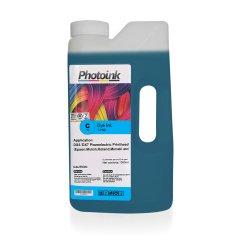 DX5 ve DX7 Kafalar için 1000 ml l MAVİ CYAN Dye Plotter Mürekkep (T-PND)
