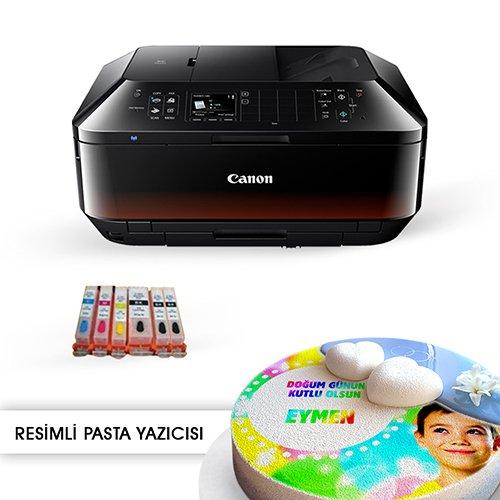 Gıda mürekkepli renkli resimli pasta yazıcısı canon mx925