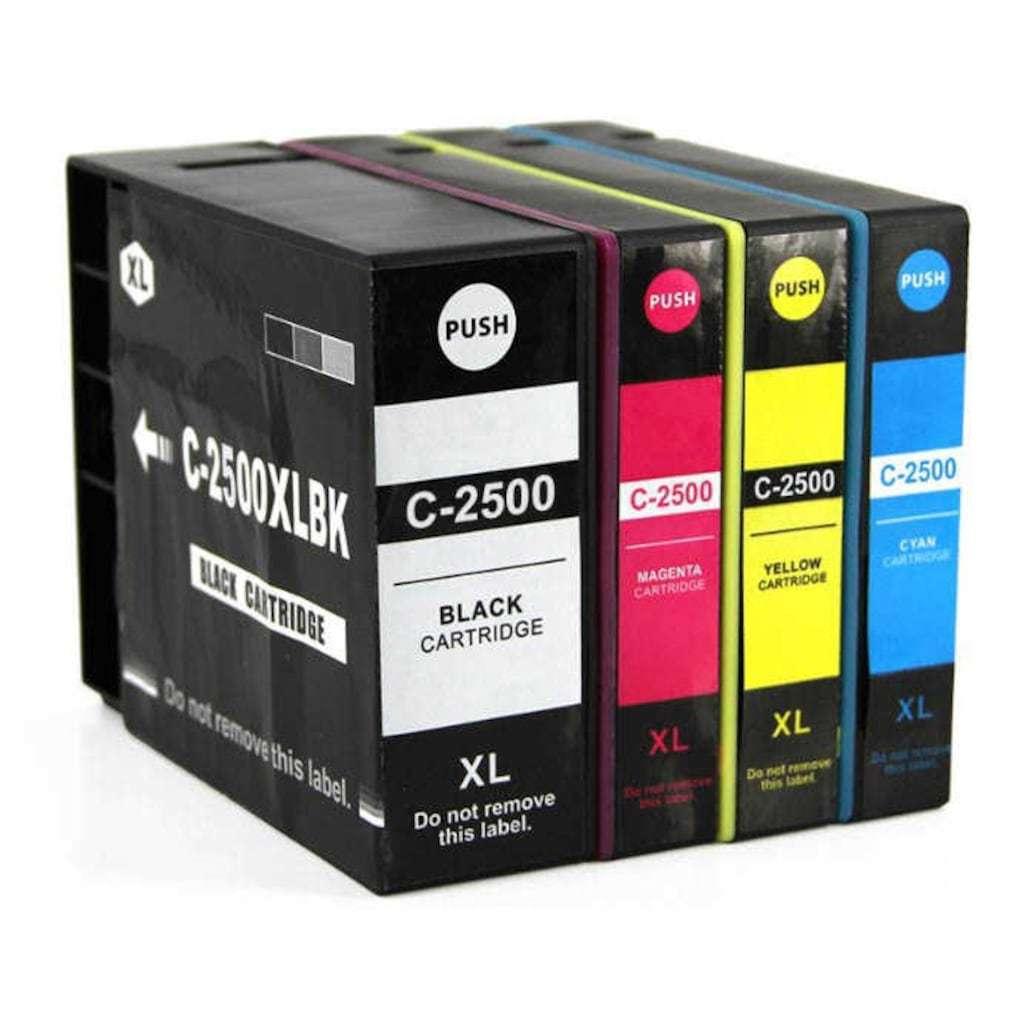CANON MAXIFY PGI-2500 XL İB4050 /MB5050 MB5150 MB5350 MUADİL KARTUŞ SETi
