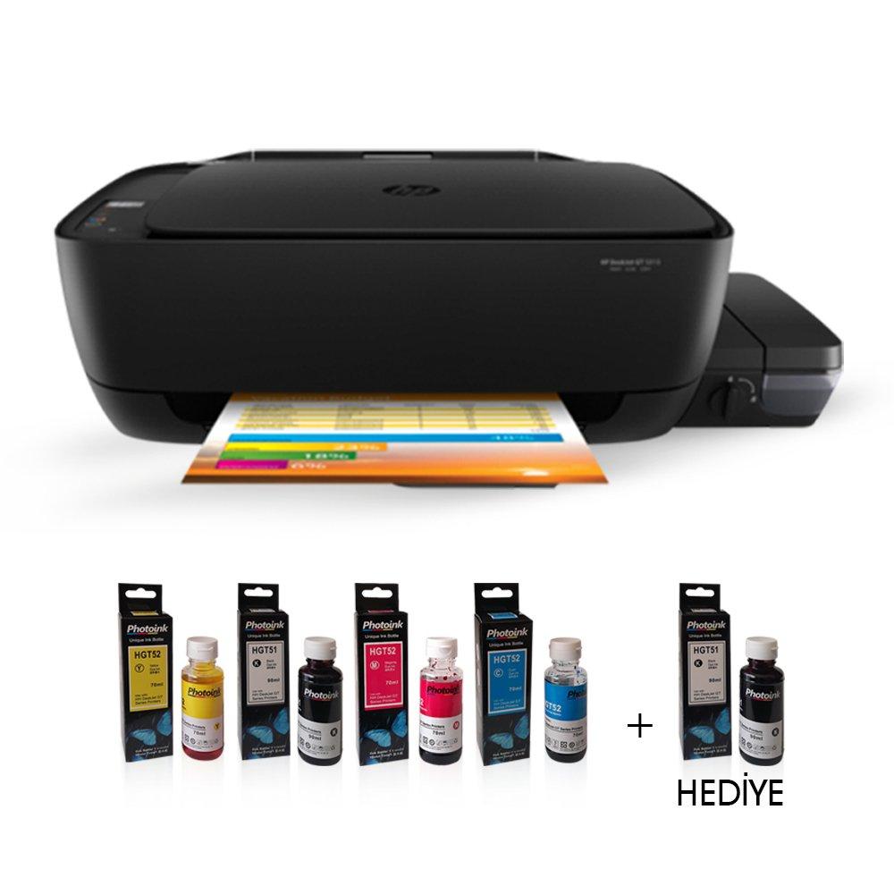 Photoink Mürekkepli HP Inkjet 315 Fotokopi + Tarayıcı + Mürekkep Püskürtmeli Tanklı Yazıcı Z4B04AO