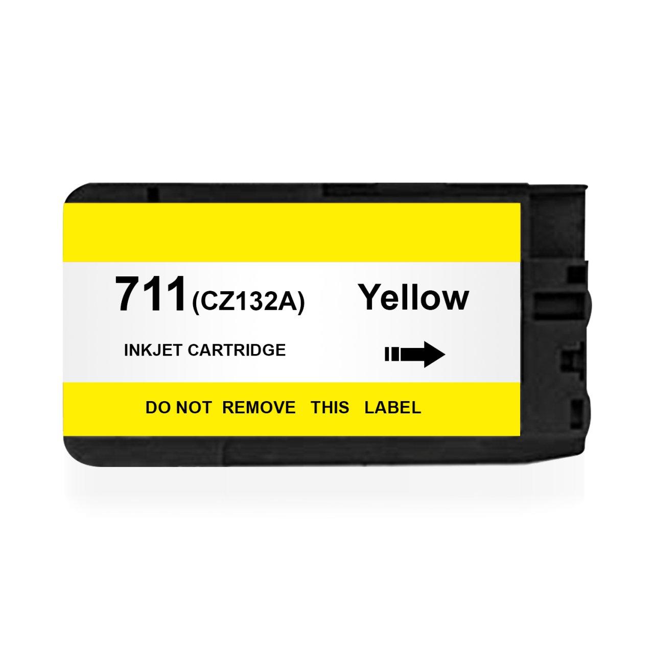 BK HP 711Y (CZ132A) UYUMLU Sarı KARTUŞ - HP Designjet T120 / T520