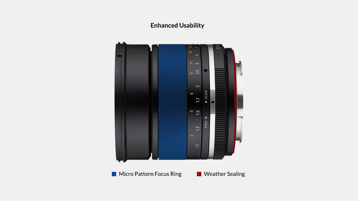Samyang MF 85mm F1.4 MK2 Lens (Canon EF)