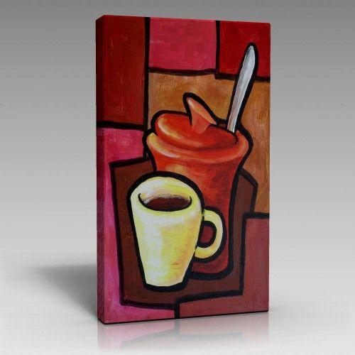 Kahve çizim Tablo