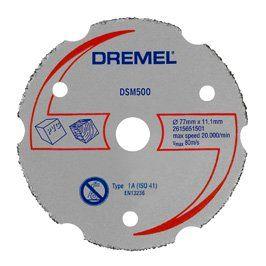 Dremel DSM20 Çok Amaçlı Kesme Diski 77mm / 2615S500JA