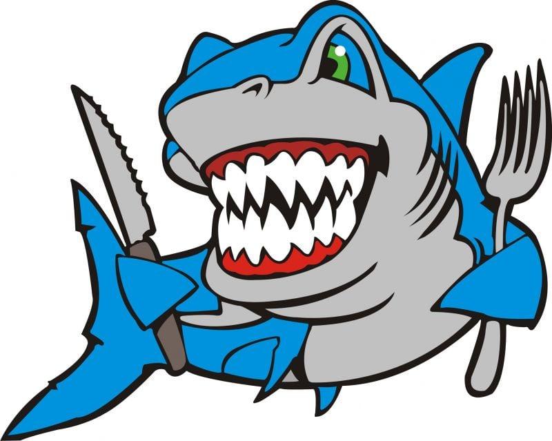 111 Kopek Baligi Shark M Lisanssiz Kartlar Kirmizi Sato