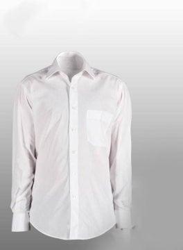 Pierre Cardin Klasik Poplin Slimfit Gömlek Beyaz - S